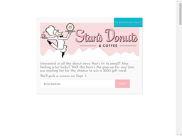 Stan's Donuts & Coffee shopping