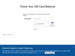 Buca Di Beppo gift card balance check