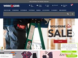 Work 'N Gear shopping