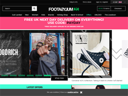 Footasylum shopping