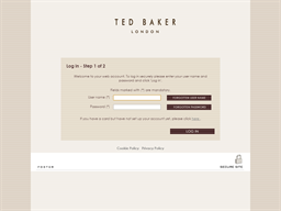 Ted Baker gift card balance check