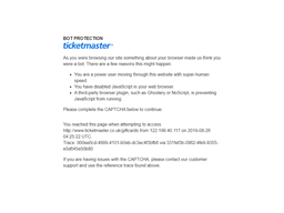 Ticketmaster gift card purchase