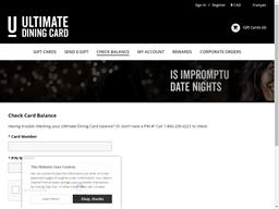 Bier Market gift card balance check