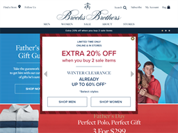Brooks Brothers shopping