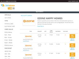 Ezone Happy Homes shopping