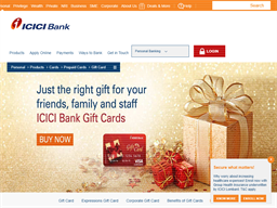 Icici Bank Gift Card shopping