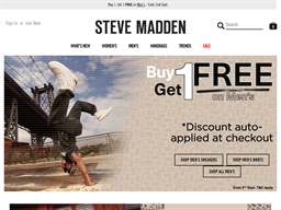 Steve Madden shopping