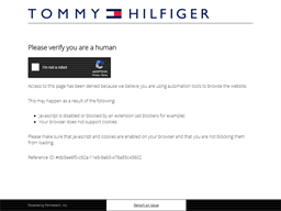 Tommy Hilfiger shopping