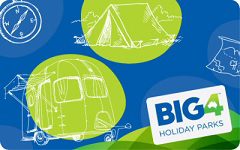 BIG4 Holiday Parks gift card purchase