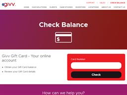 Clifford Gardens gift card balance check