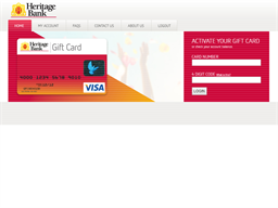 Heritage Bank Gift Card gift card purchase