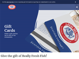 Legal Sea Foods gift card purchase