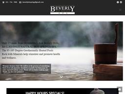 Beverly Hot Springs shopping
