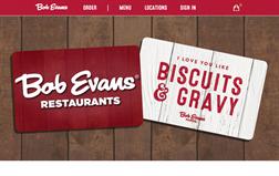 Bob Evans Restaurants gift card purchase