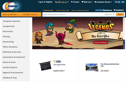 Newegg shopping