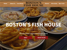 Boston's Fish House shopping