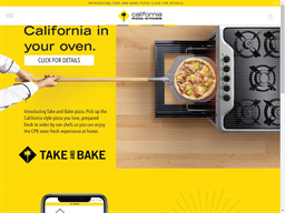 California Pizza Kitchen shopping