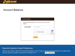 Cattlemens gift card balance check