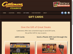 Cattlemens gift card purchase