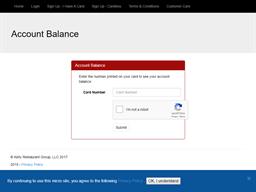 Champps Kitchen + Bar gift card balance check