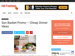 Chef'd Meal Kits shopping