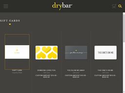 Drybar gift card purchase