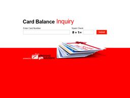 Eegee's gift card balance check