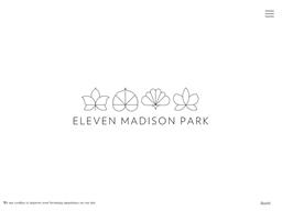 Eleven Madison Park shopping