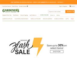 Gardener's Supply Company shopping