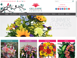 Gillespie Florists shopping