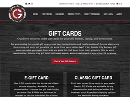 Granite City Food & Brewery gift card purchase