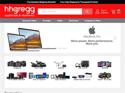 h.h. gregg shopping