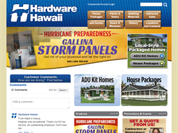 Hardware Hawaii shopping