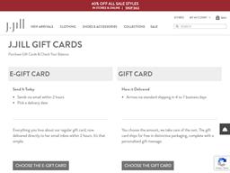 J Jill gift card balance check