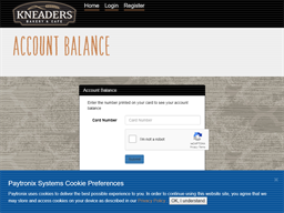 Kneaders Bakery & Cafe gift card balance check