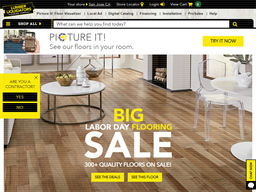 Lumber Liquidators shopping