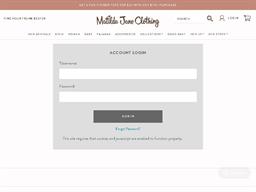 Matilda Jane Clothing gift card balance check