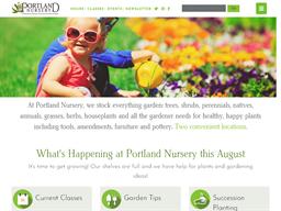 Portland Nursery and Garden Center shopping
