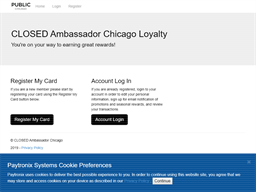 Public Chicago gift card purchase