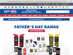 AFL Shop shopping