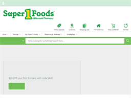 Super One Foods shopping