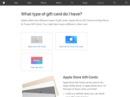 Apple Music gift card purchase