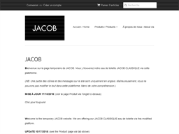 Jacob shopping