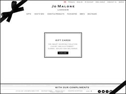 Jo Malone gift card balance check