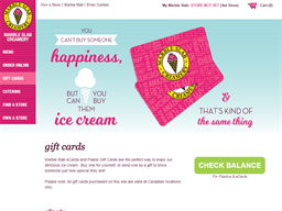 Marble Slab Creamery gift card purchase