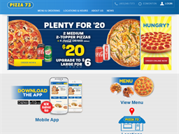 Pizza 73 shopping