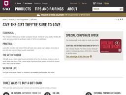 SAQ gift card purchase