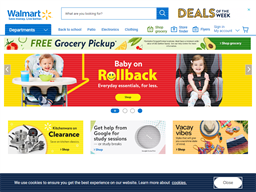 Walmart Digital shopping