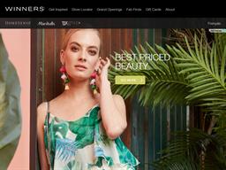 Winners shopping