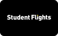 Student Flights gift card design and art work